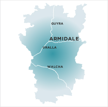 Armidale Express Extra-map