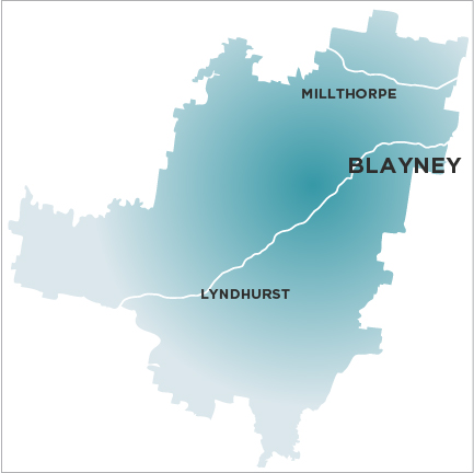 Blayney Chronicle-Map