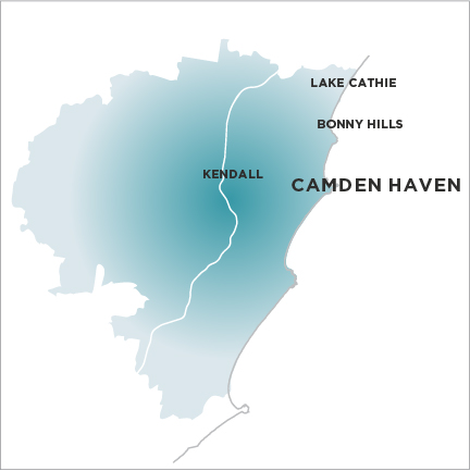 Camden Haven Courier-Map