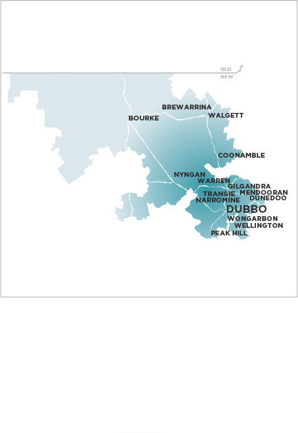 Daily Liberal and Macquarie Advocate-Map