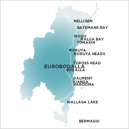 Eurobodalla Shire Independent Map