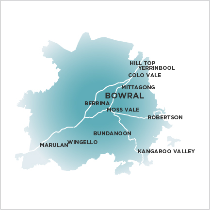 Highlands Bowral Map