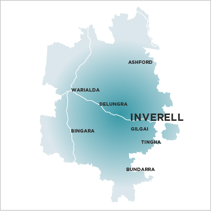 Inverell Times-Map