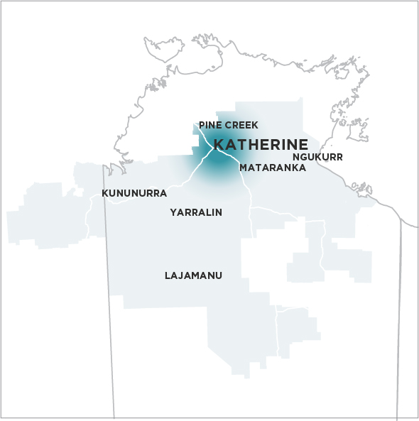 Katherine Times-Map