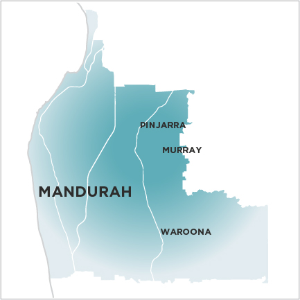 Mandurah Mail Map