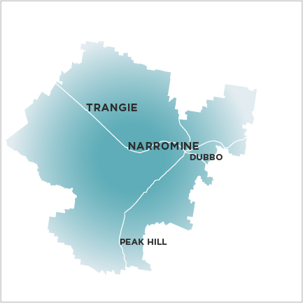 Narromine News and Trangie Advocate Map