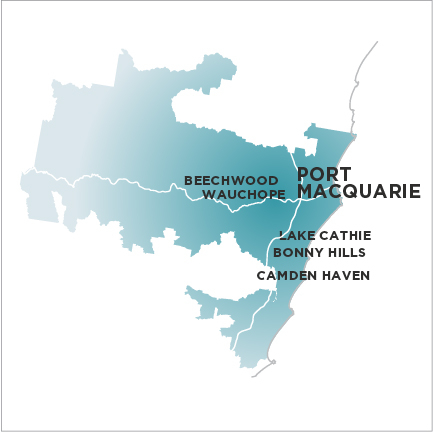 Port Macquarie Express-Map