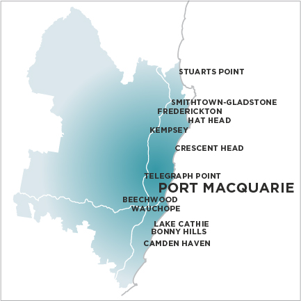 Port Macquarie News-Map