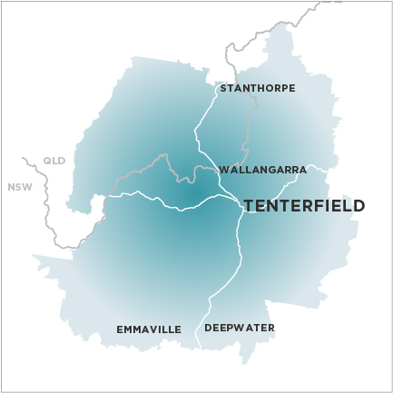 Tenterfield Star-Map
