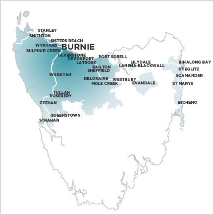 The Advocate Burnie - Map