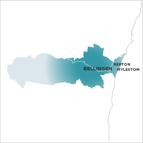 The Bellingen Shire Courier-Sun Map