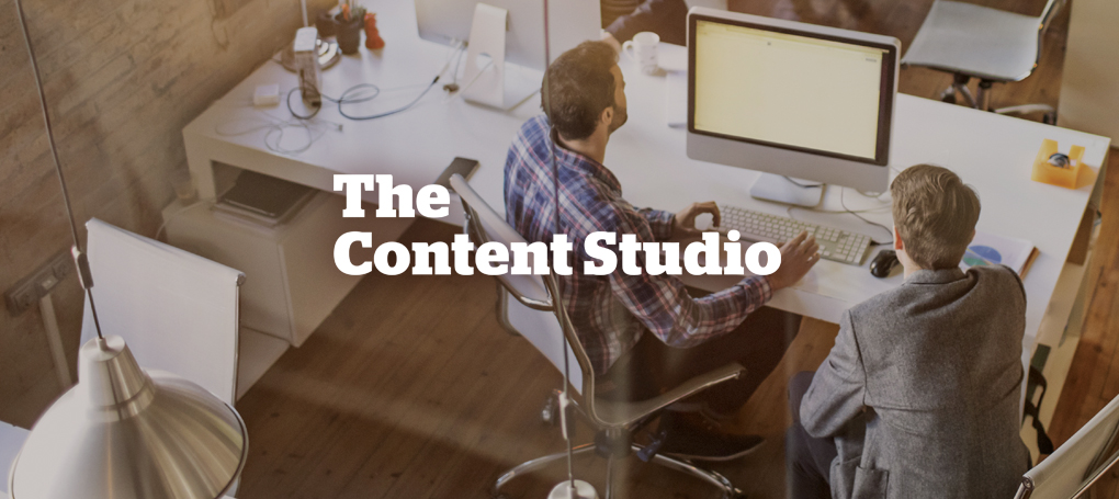 The Content Studio Hero