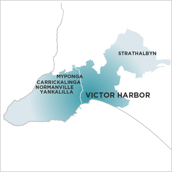 The Times Victor Harbour Map